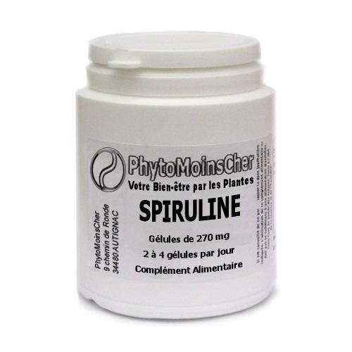 SPIRULINE PhytoMoinsCher