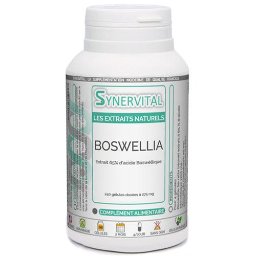 Extrait de résine de Boswellia Serrata à 65 % d'acide boswéllique.