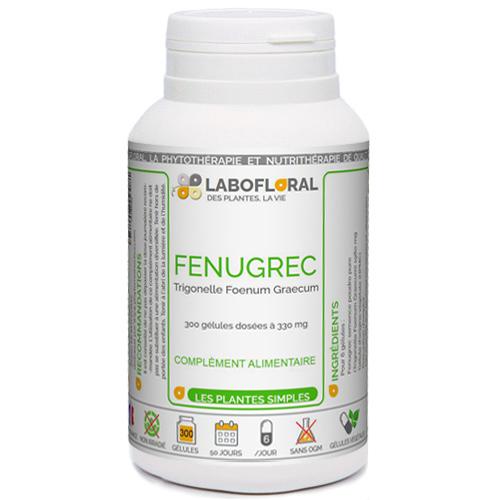 FENUGREC Phytaflor 330 mg en g�lules.