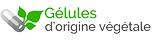 gélules d'origine végétale.