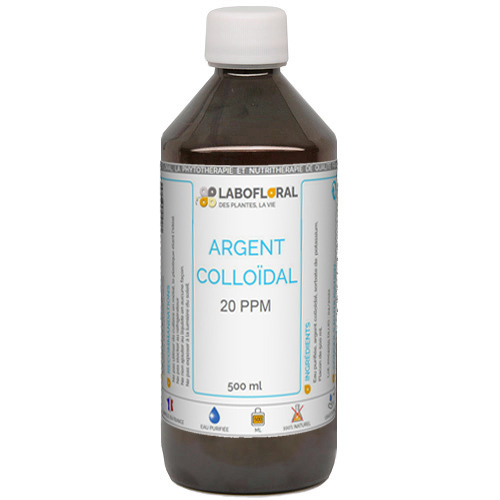 Argent colloïdal 20 ppm Floralpina