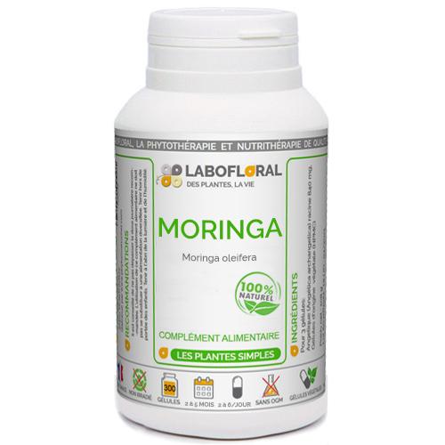 Moringa feuille Phytaflor en gélules.