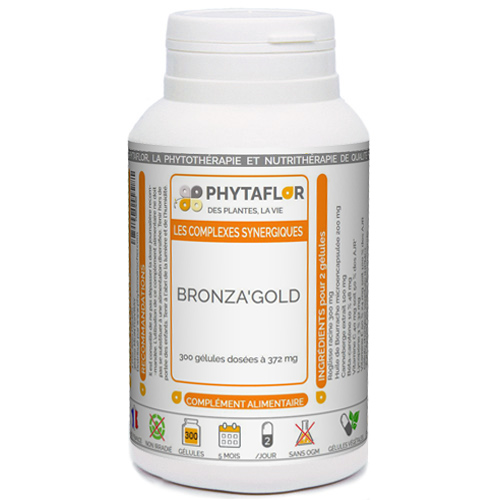 Bronzage Bronza'gold Phytaflor