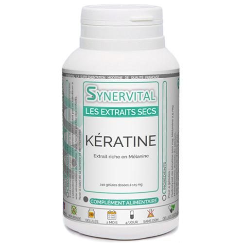KÉRATINE Extrait mélanine Phytaflor.