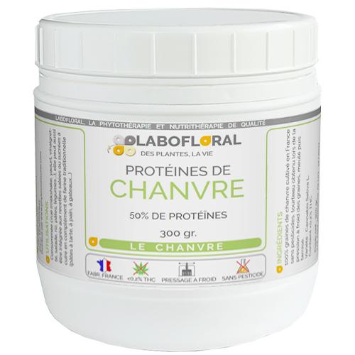 Protéine de Chanvre à 50% Labofloral
