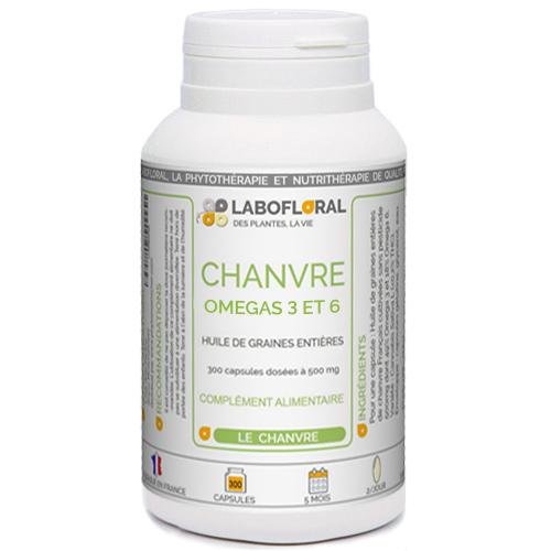 Chanvre (Omegas 3 et 6) Labofloral