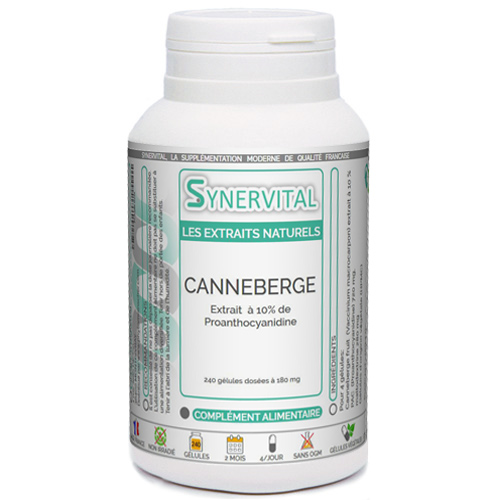 Canneberge Extrait 10% Synervital