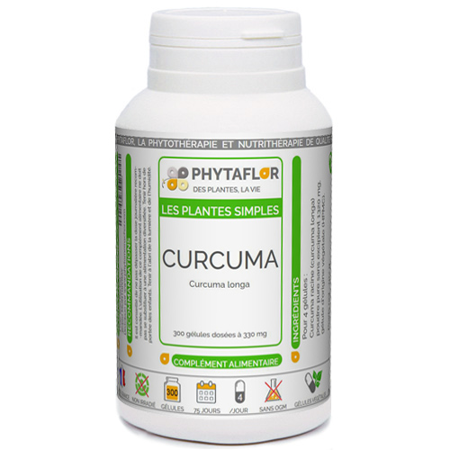 CURCUMA racine Phytaflor.