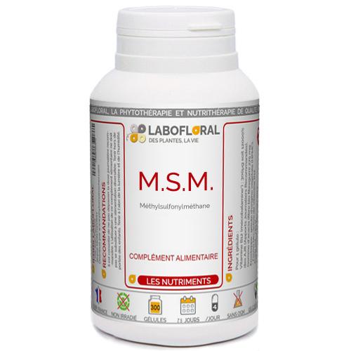 MSM Méthylsulfonylméthane Phytaflor