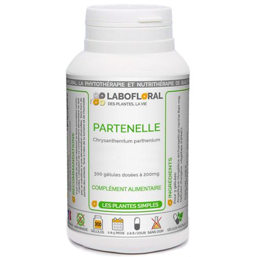 PARTENELLE Phytaflor 200 mg en g�lules.