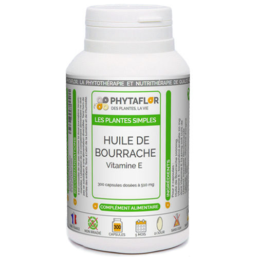 Bourrache + Vitamine E Phytaflor