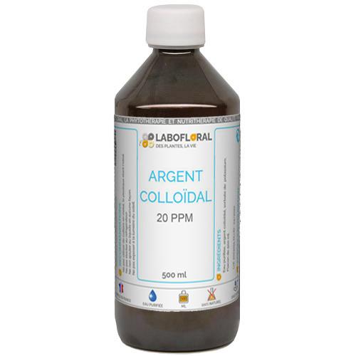 Argent colloïdal 20 ppm Labofloral