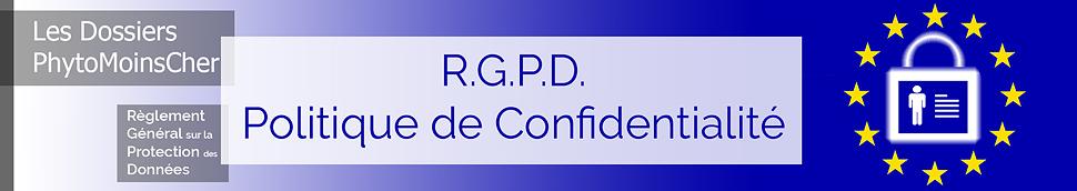 Le RGPD et votre Protection sur PhytoMoinsCher
