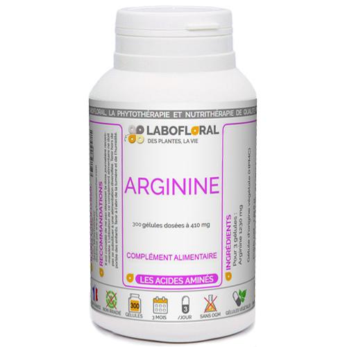Arginine Labofloral acide aminé.