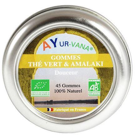 Gommes Thé vert et Amalaki Ayurvana