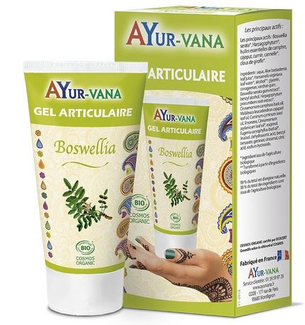 Gel articulaire au Boswellia Ayurvana