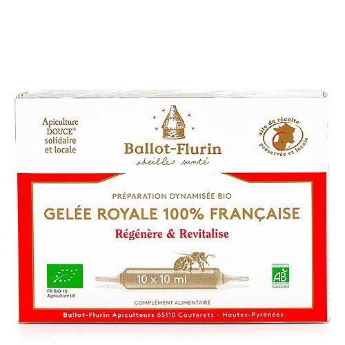 Gelée Royale Française Bio Ballot-Flurin