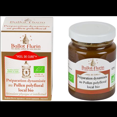 Miel de Cure au Pollen polyfloral Ballot-Flurin