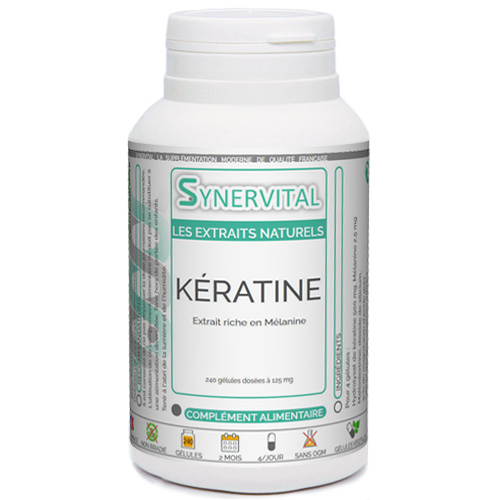 KÉRATINE Extrait mélanine Synervital