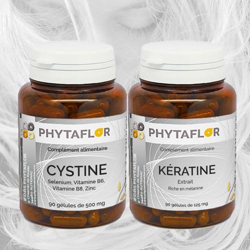 Pack Kératine + Cystine Phytaflor