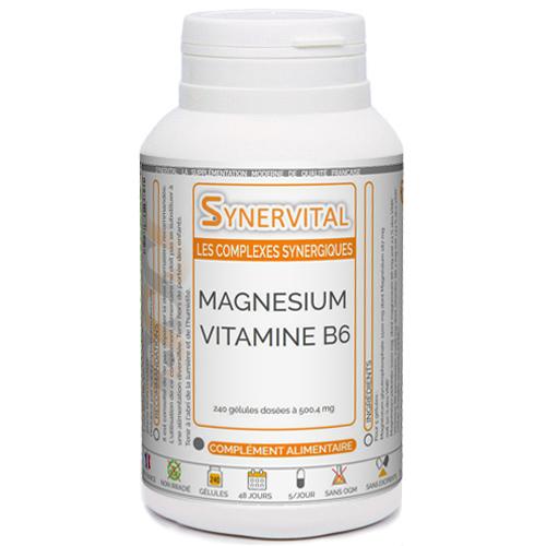 Magnesium B6 Synervital