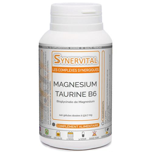 Magnesium Taurine B6 Synervital