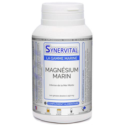 Magnesium Marin Intense de la Mer Morte Synervital