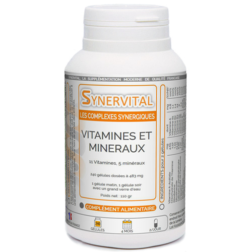 Vitamines & Minéraux Synervital
