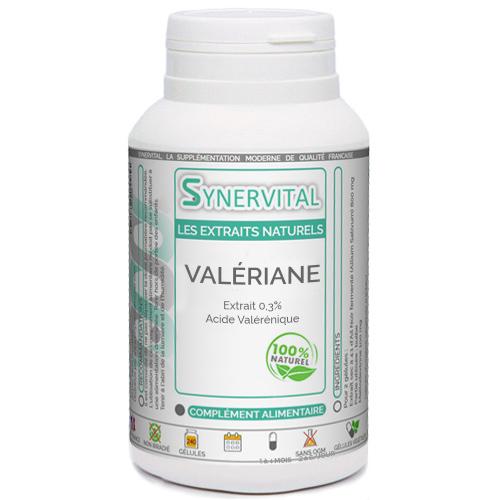 Valériane Extrait naturel Phytaflor à 0.3  d'acides valéréniques.