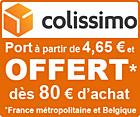 Port offert dès 80€ d'achat !